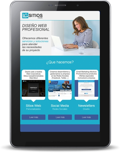 Diseño Newsletters Email Marketing