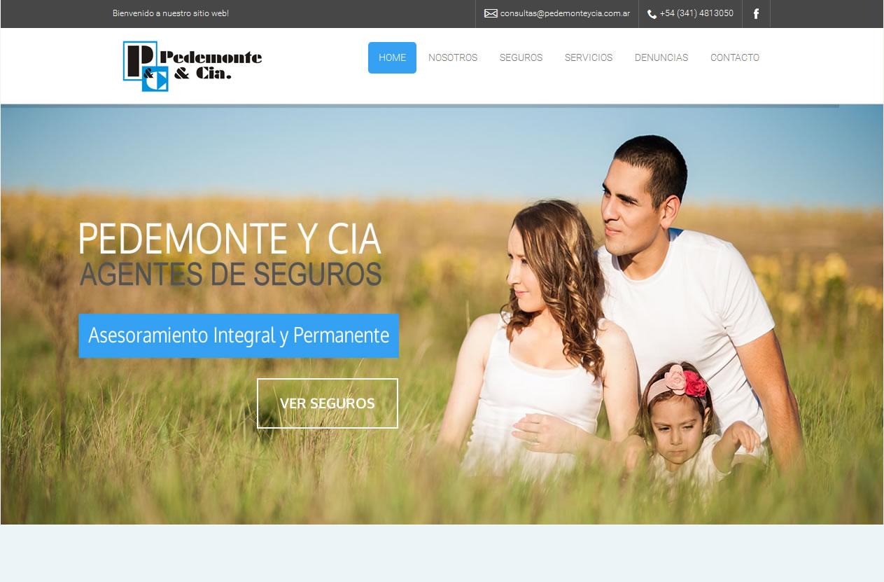 sitio web pedemonte y cia