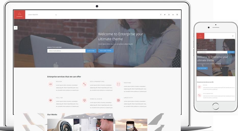 plantilla wordpress para empresas