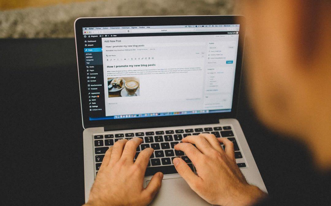 Como crear una entrada en WordPress
