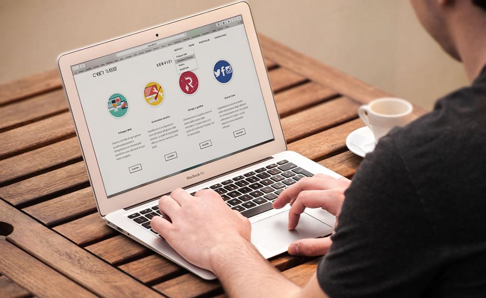 Diferentes tipos de páginas web