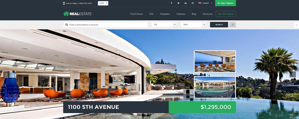 Diseño página web para inmobiliarias