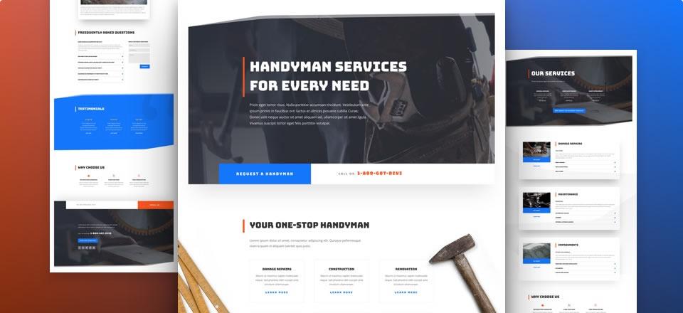 Página web para empresa de mantenimiento