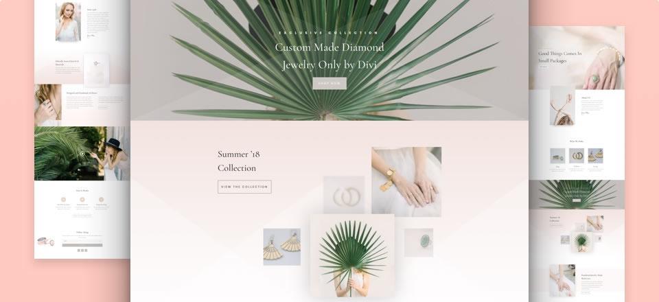 Página web para joyería