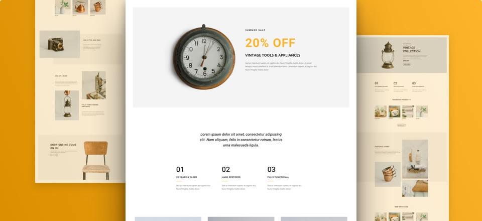 Página web para Boutique