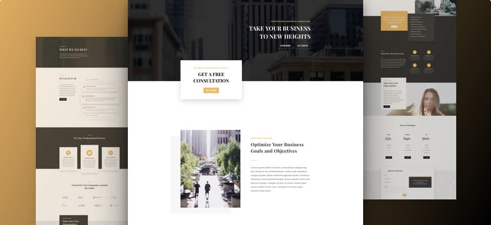 Página web para empresa consultora