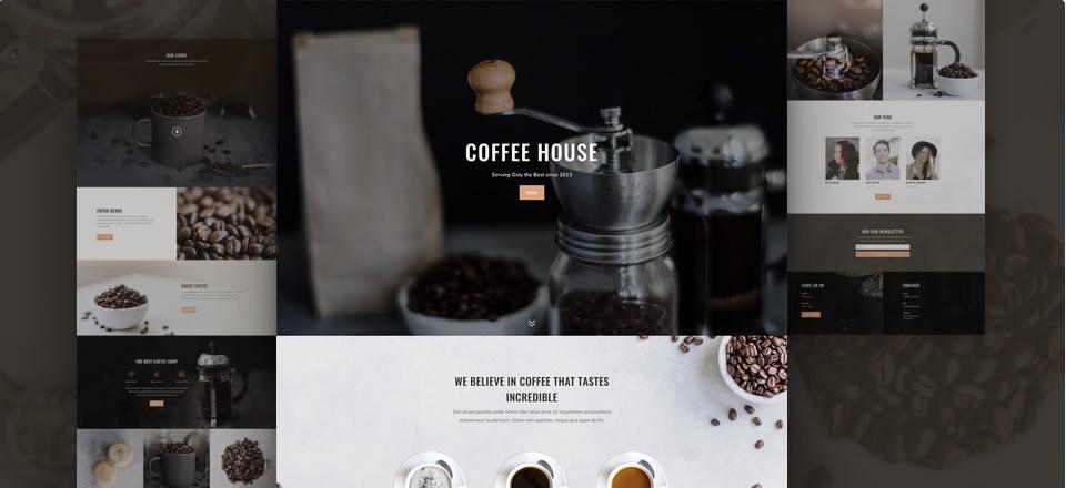 Página web para cafetería/bares