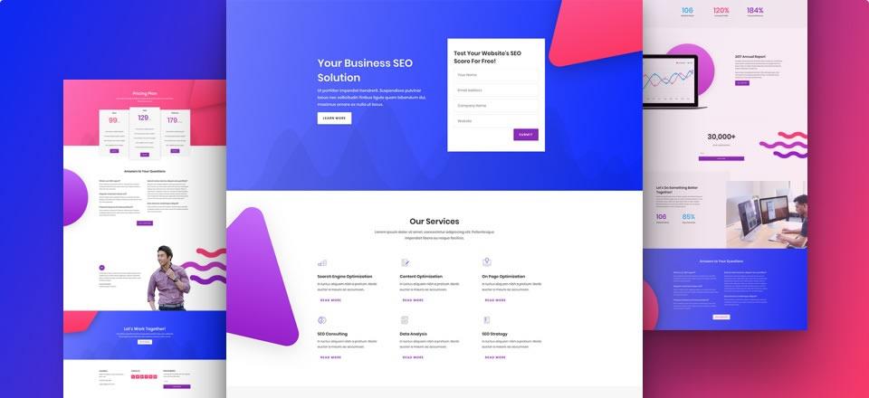 Página web para empresas de servicios