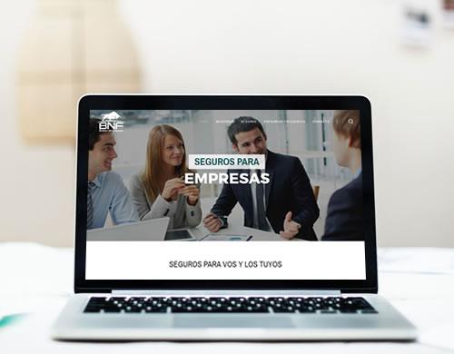 Sitio web BNF Broker