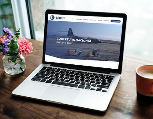 Sitio web Laboratorio Labac