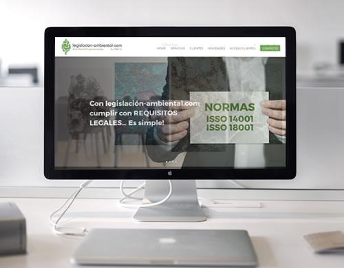 Sitio web Legislación Ambiental
