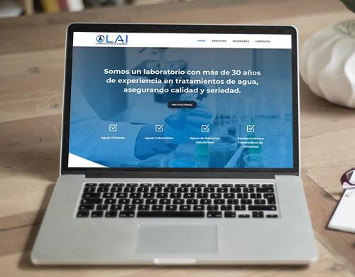 Sitio web Laboratorio LAI