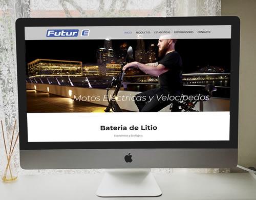 Sitio web Futur-e Vehículos Eléctricos