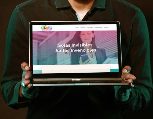 Sitio web Omeb Bolivia