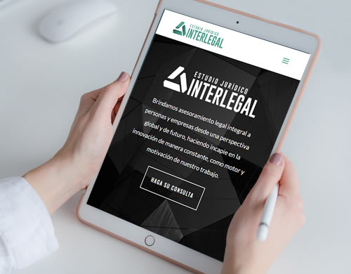 Sitio web Interlegal