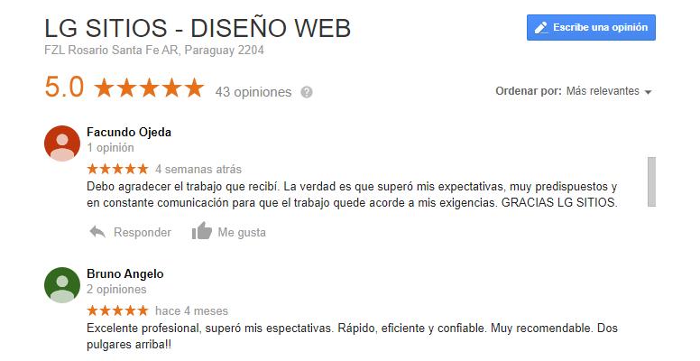 opinion clientes