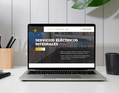 Sitio web Selectrico Integral