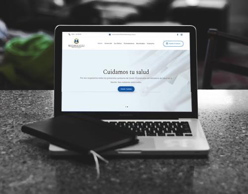 Sitio web Dr Micheletti