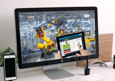 Sitio web SAI Sistemas