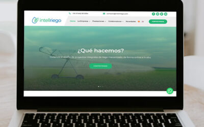 Sitio web Intellriego