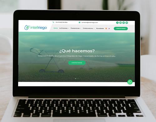 Sitio web Intellriego