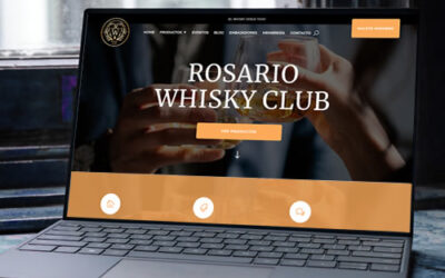 Sitio web Rosario Whisky Club