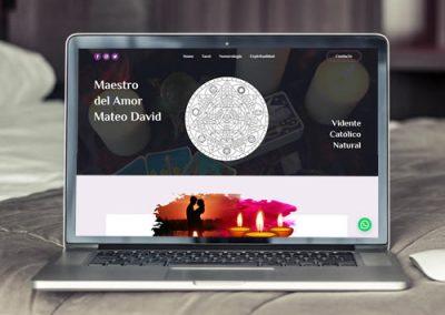Sitio web Maestro del Amor Mateo
