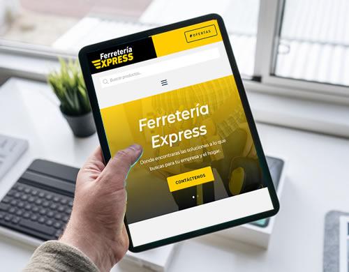 Sitio web Ferretería Express Rosario