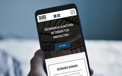 Sitio web Diarq SRL