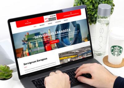 Sitio web Servigruas Zaragoza
