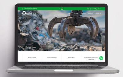 Sitio web Bedel S.A.
