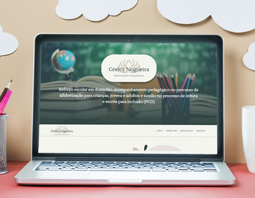 Sitio web Greicy Nogueira