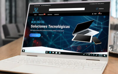Sitio web BCN Digital